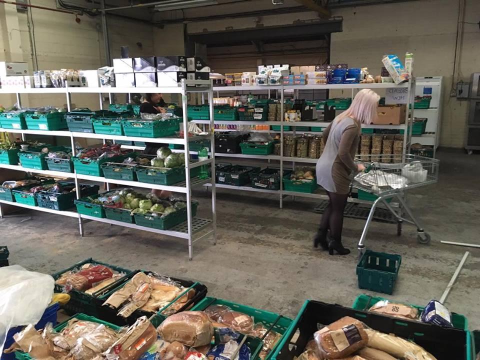 Inglismaa esimese food waste supermarketis sisevaade. Foto: The Real Junk Food Project